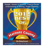 Best of Harnett County 2012